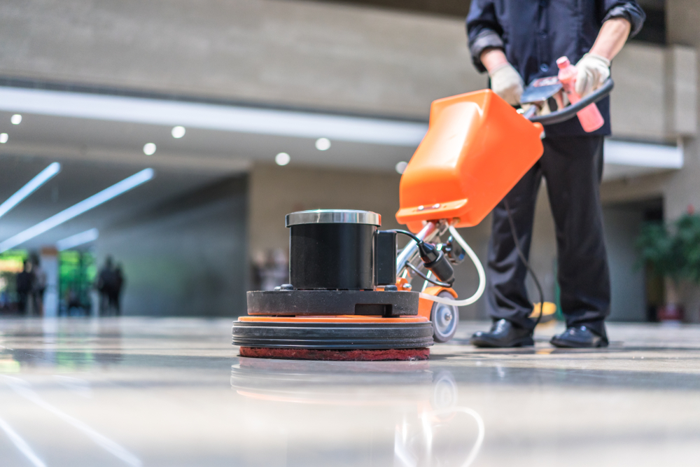 The Best Machinery Used For Cleaning Office Floors - Evolve Cleaning